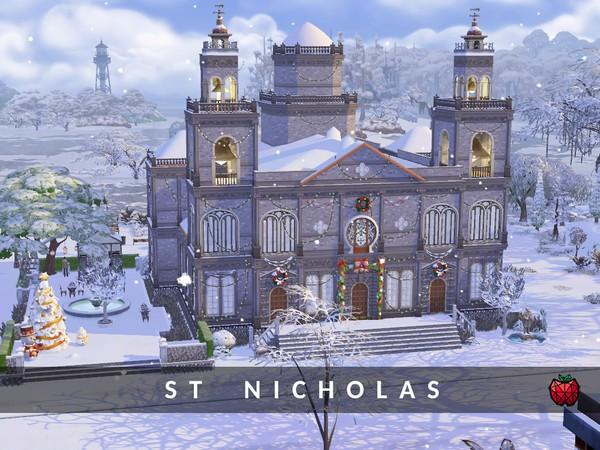 igreja the sims 4 casas