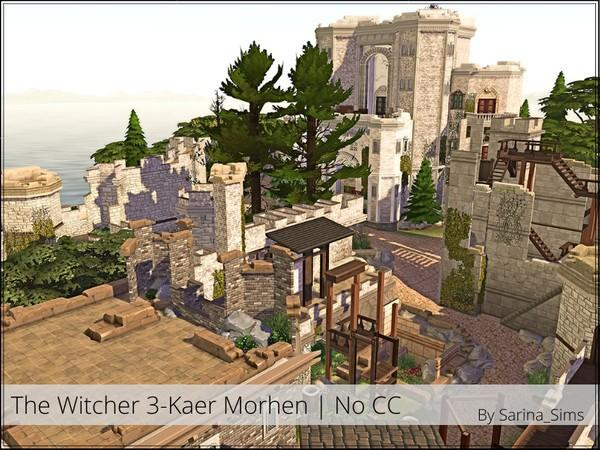 kaer morhen the witcher 3 the sims 4