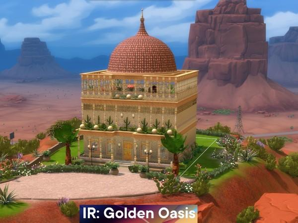 palacio no deserto the sims 4 casas
