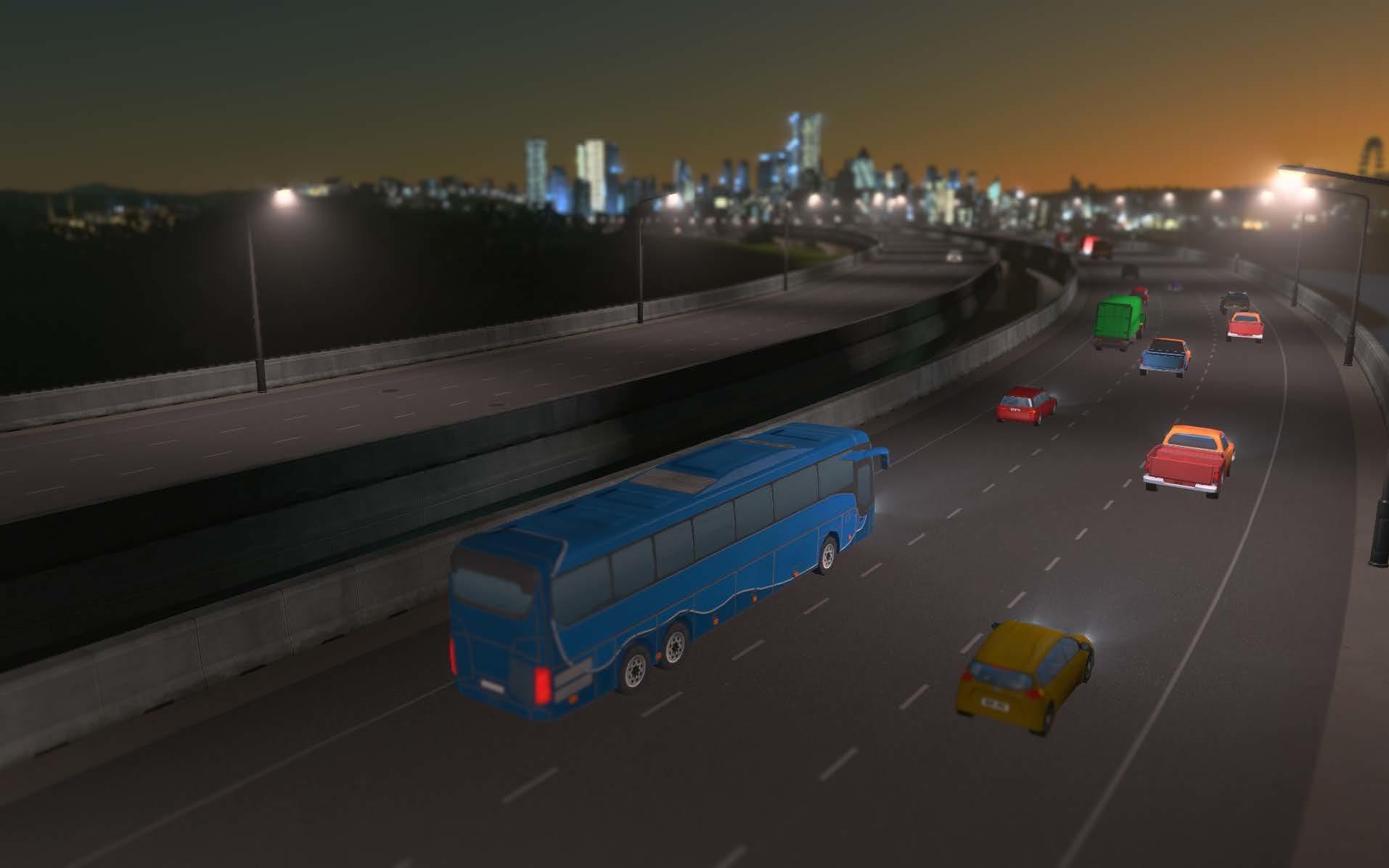 Serviço de ônibus interurbano