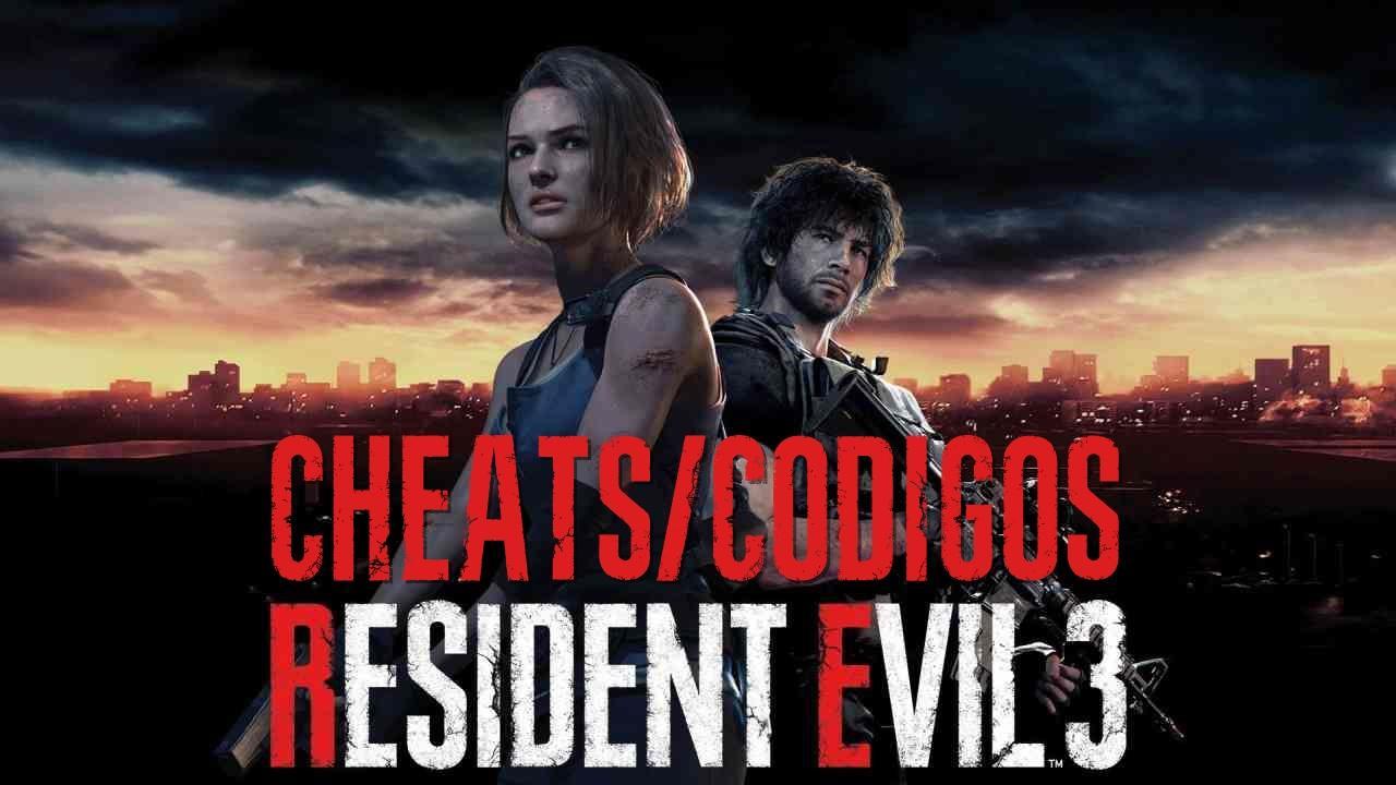 Cheats / Códigos para Resident Evil 3 Remake