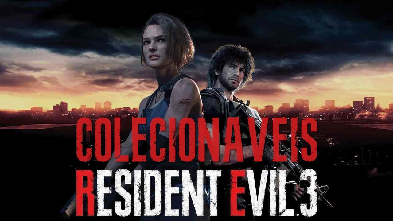 Guia completo de Colecionáveis e Locais de Resident Evil 3 Remake