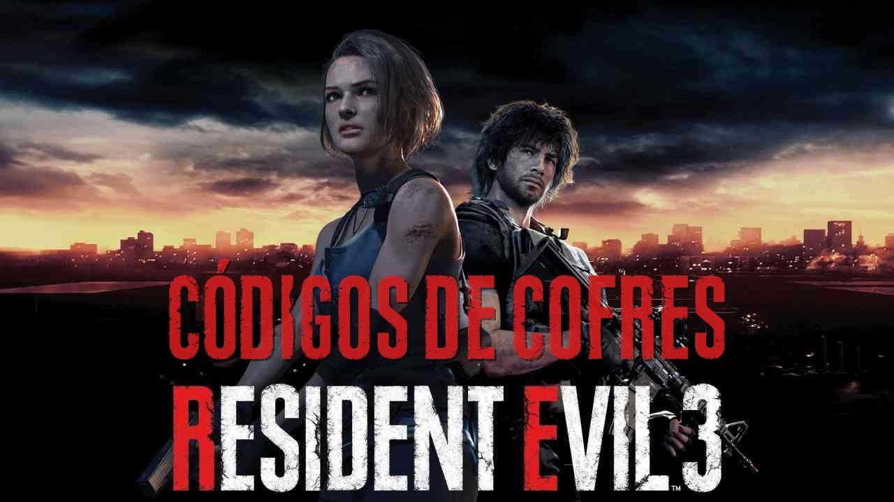 Resident Evil 3 todos os códigos de Cofre e Armários