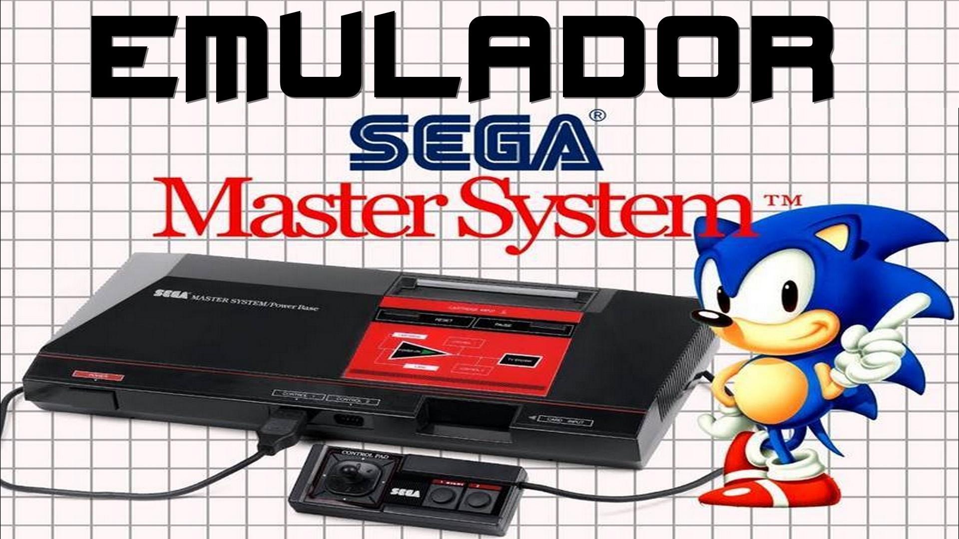 Emulador Master System para PC + 541 jogos