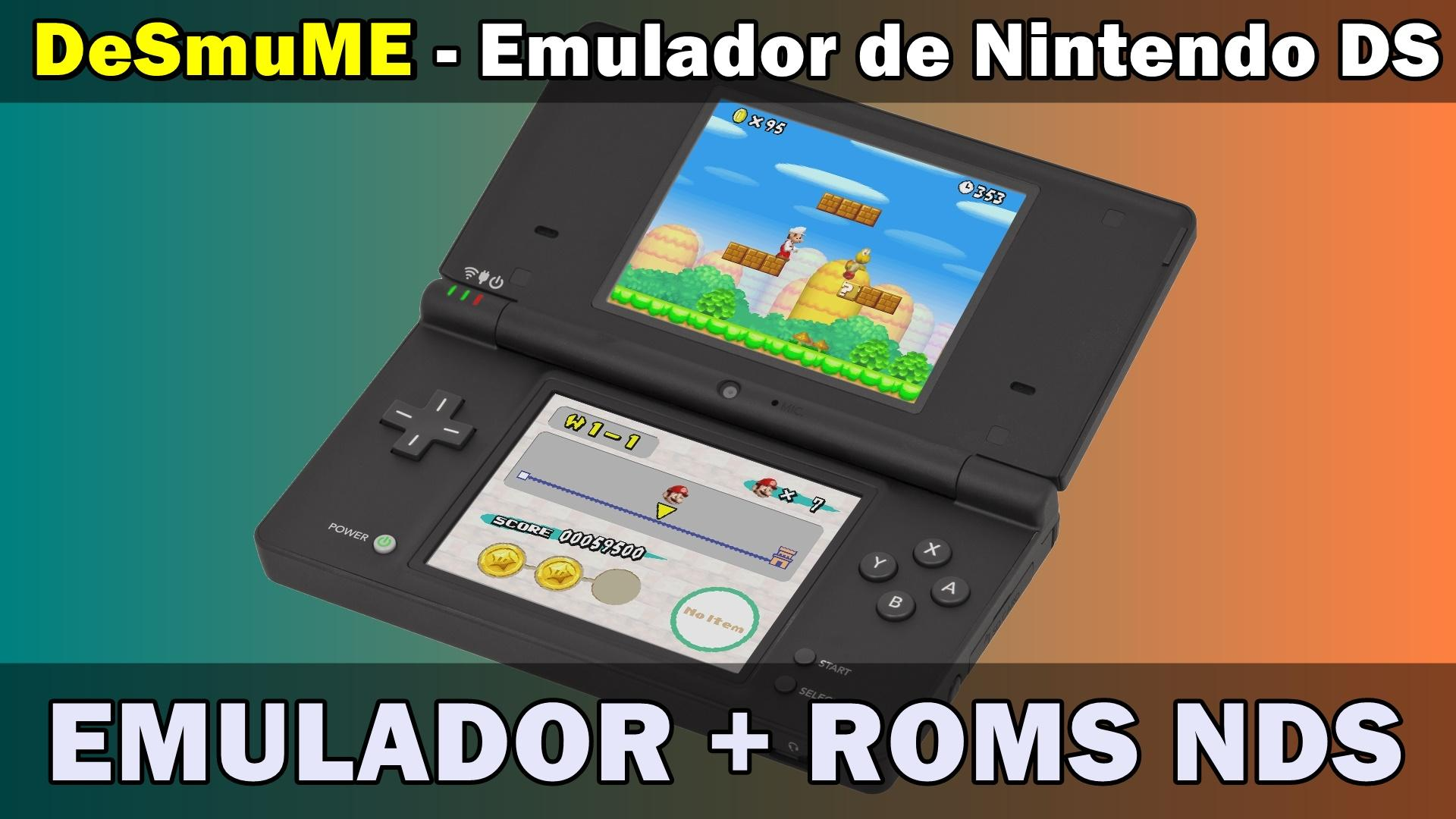 DeSmuME - O Melhor Emulador de Nintendo DS para PC + Jogos