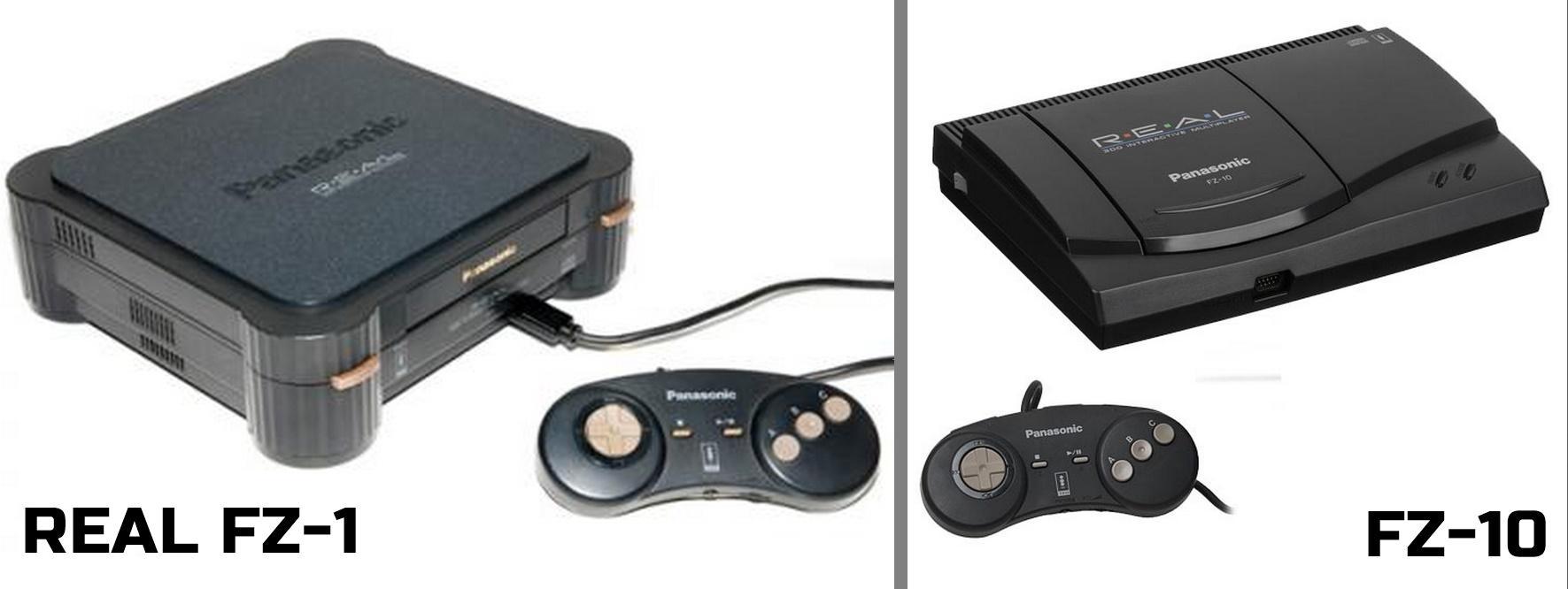 3DO da Panasonic - REAL FZ-1 e FZ-10