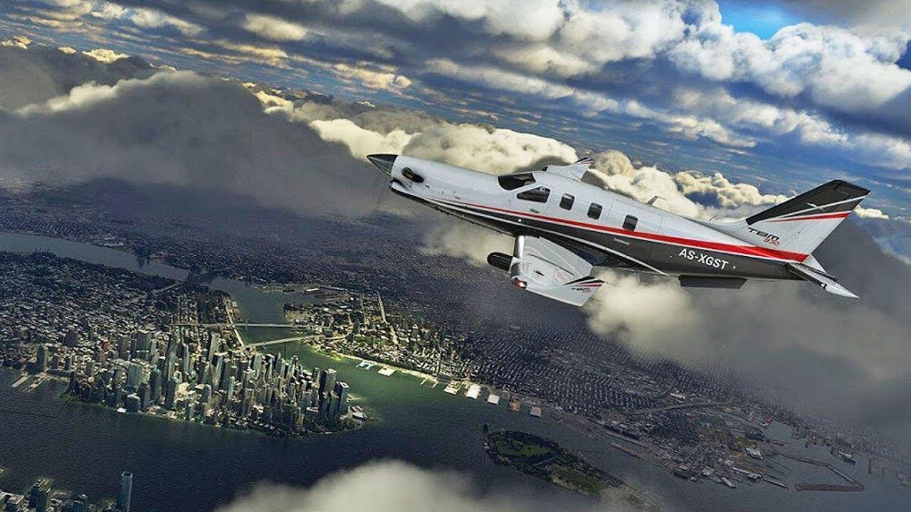 Como voar no Microsoft Flight Simulator
