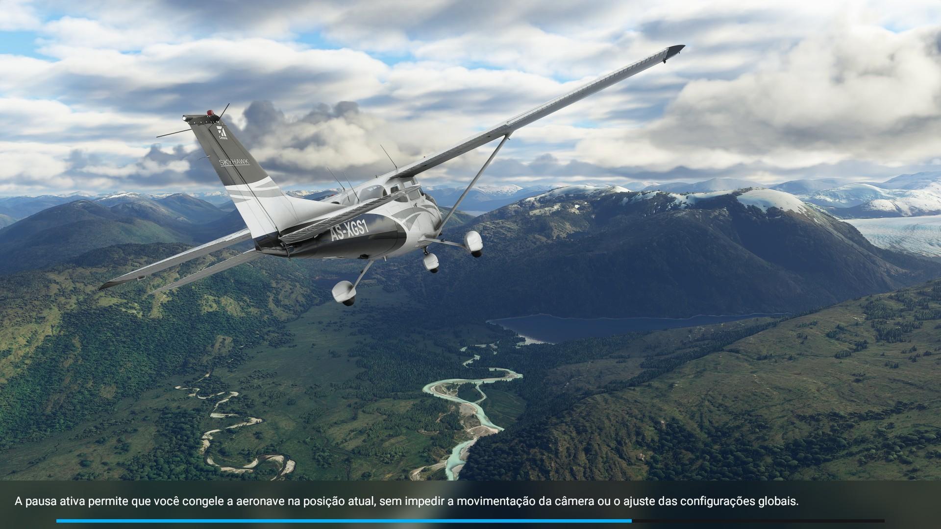 Pausa Ativa - Flight Simulator
