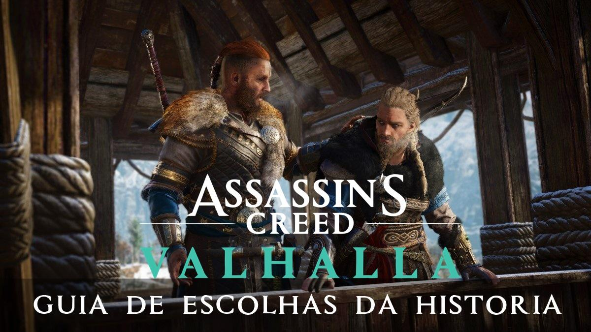 Guia de escolhas da história do Assassin's Creed Valhalla