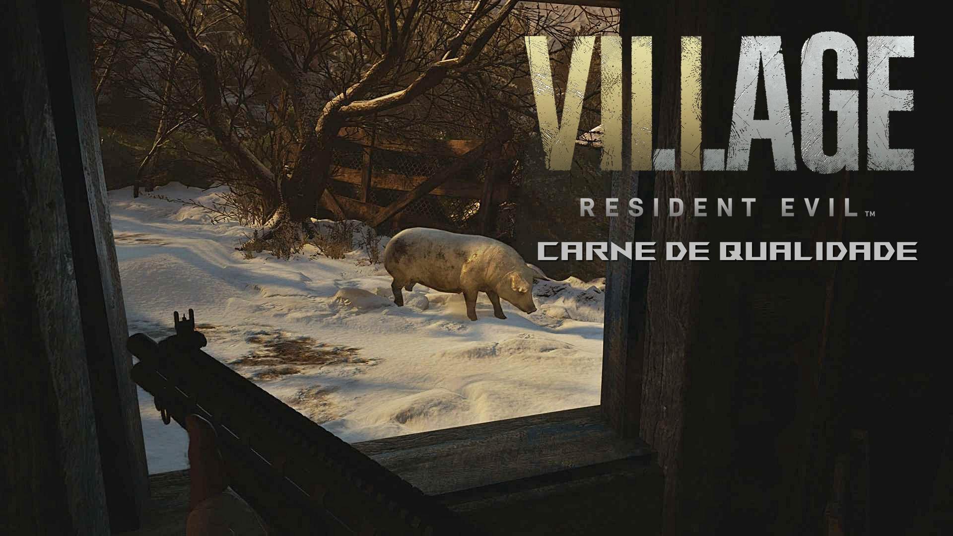 Resident Evil 8 Village - Como Obter Carne de Qualidade