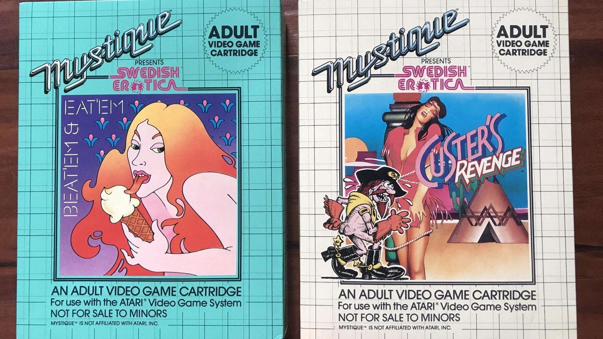 Os jogos de conteudo adulto da Atari