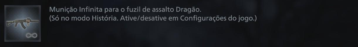 dragao fuzil de assalto