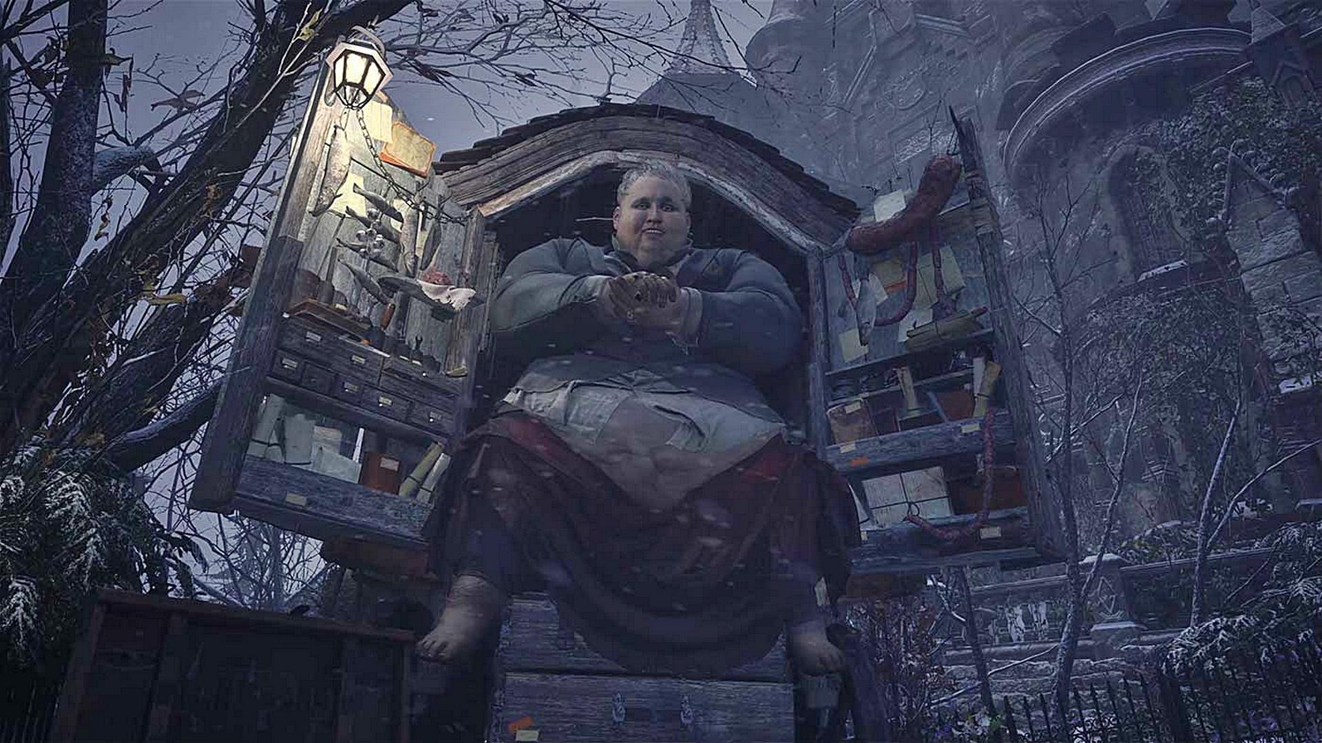 Mercador de Resident Evil Village